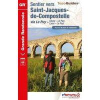FF Randonnee Wandelgids GR765 Sentier Vers St-Jacques-de-Compostelle
