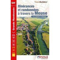 FF Randonneee Wandelgids Itinérances Et Randonnées à Travers La Meuse