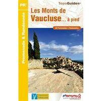 FF Randonnee Wandelgids Les Monts Du Vaucluse A Pied