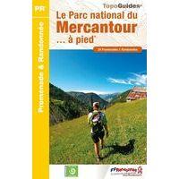 FF Randonneee Wandelgids Parc National Du Mercantour A Pied
