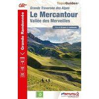 FF Randonnee Wandelgids GR5 Le Mercantour