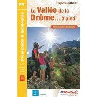 FF Randonnee Wandelgids La Vallée De La Drome P263