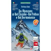 Fraternali Editore Skitouringkaart Val Chisone - Val Pellice