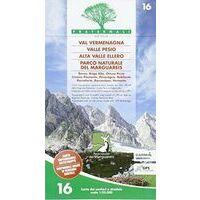 Fraternali Editore Wandelkaart 16 Val Vermenagna - Valle Pesio