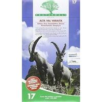 Fraternali Editore Wandelkaart 17 Alta Val Varaita - Monte Viso
