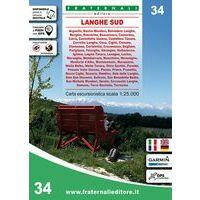Fraternali Editore Wandelkaart 34 Lanhge Sud