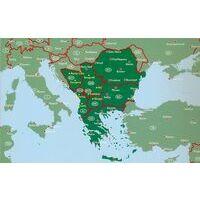 Freytag En Berndt Wegenatlas Zuidelijke Balkan