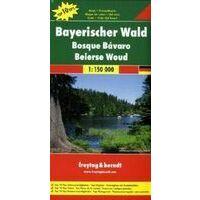 Freytag En Berndt Wegenkaart Bayerischer Wald