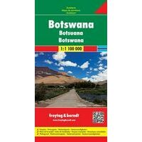 Freytag En Berndt Wegenkaart Botswana