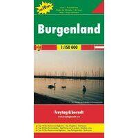 Freytag En Berndt Wegenkaart Burgenland