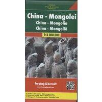 Freytag En Berndt Wegenkaart China En Mongolië