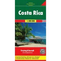 Freytag En Berndt Wegenkaart Costa Rica
