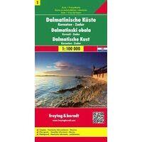 Freytag En Berndt Wegenkaart Dalmatische Kust 1 Zadar