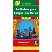 Freytag En Berndt Wegenkaart Emilia-Romagna