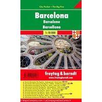 Freytag En Berndt Stadsplattegrond Barcelona