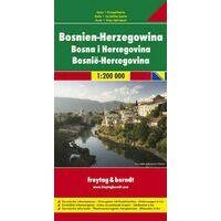 Freytag En Berndt Wegenkaart Bosnië-Herzegovina