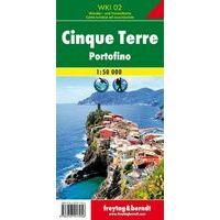 Freytag En Berndt Wandelkaart WKI02 Cinque Terre Portofino