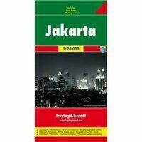 Freytag En Berndt Stadsplattegrond Jakarta