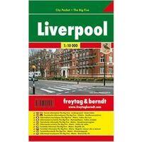 Freytag En Berndt Stadsplattegrond Liverpool