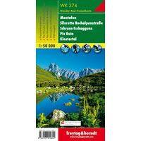 Freytag En Berndt Wandelkaart WK374 Montafon - Silvretta