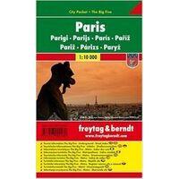 Freytag En Berndt Stadsplattegrond Parijs