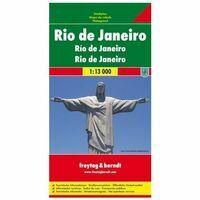 Freytag En Berndt Stadsplattegrond Rio De Janeiro