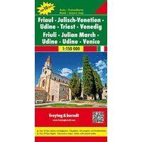 Freytag En Berndt Wegenkaart Friuli-Venetie