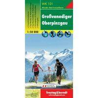Freytag En Berndt Wandelkaart WK121 Grossvenediger