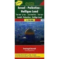 Freytag En Berndt Wegenkaart Israël En Palestina