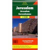 Freytag En Berndt Stadsplattegrond Jerusalem