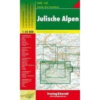 Freytag En Berndt Wandelkaart WK141 Julische Alpen