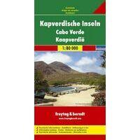 Freytag En Berndt Wegenkaart Kaapverdische Eilanden