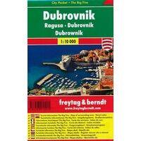 Freytag En Berndt Stadsplattegrond Dubrovnik Pocket