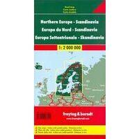 Freytag En Berndt Landkaart Scandinavië