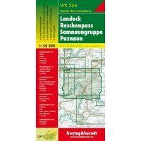 Freytag En Berndt Wandelkaart WK254 Landeck- Reschenpass