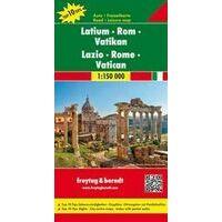 Freytag En Berndt Wegenkaart Lazio & Rome