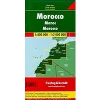 Freytag En Berndt Wegenkaart Marokko
