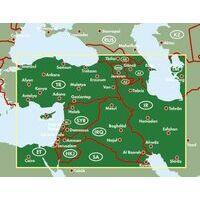 Freytag En Berndt Landkaart Midden-Oosten