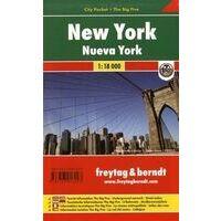 Freytag En Berndt Stadsplattegrond New York City