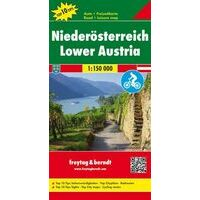 Freytag En Berndt Wegenkaart Niederösterreich