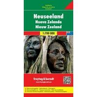 Freytag En Berndt Wegenkaart Nieuw-Zeeland
