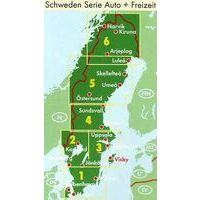 Freytag En Berndt Wegenkaart 1 Zweden Zuid