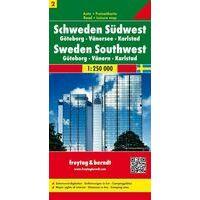 Freytag En Berndt Wegenkaart 2 Zweden Zuidwest
