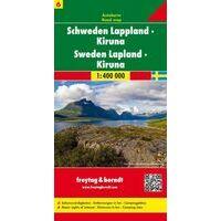 Freytag En Berndt Wegenkaart 6 Zweden Lapland
