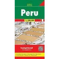Freytag En Berndt Wegenkaart Peru