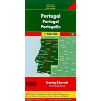Freytag En Berndt Wegenkaart Portugal