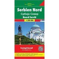 Freytag En Berndt Wegenkaart Noordelijk-Servië