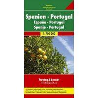 Freytag En Berndt Wegenkaart Spanje En Portugal