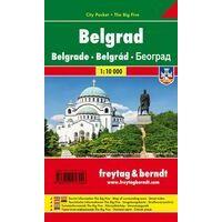 Freytag En Berndt Stadsplattegrond Belgrado