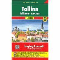 Freytag & Berndt Stadsplattegrond Tallinn City Pocket